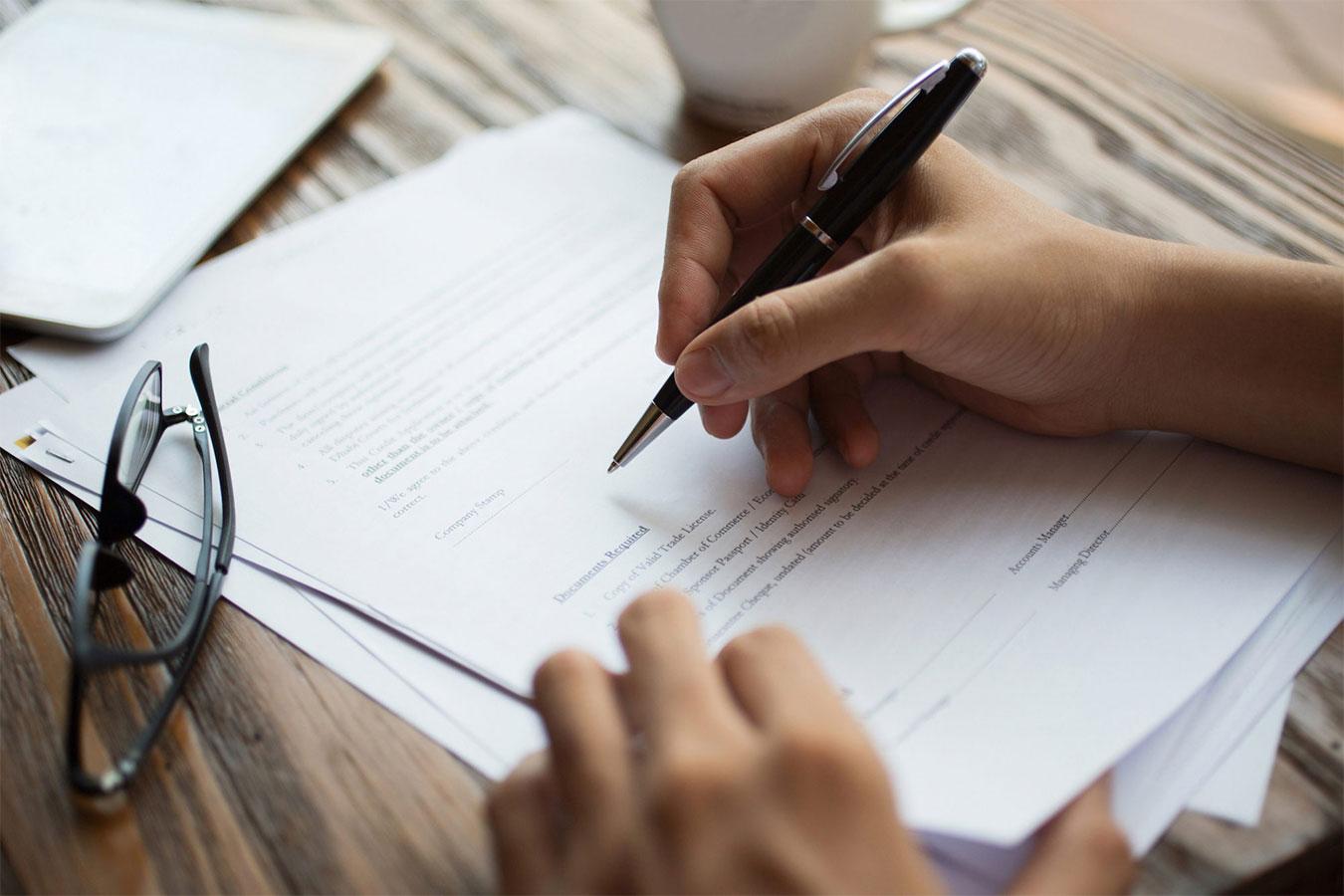 Письменный перевод текста и документов